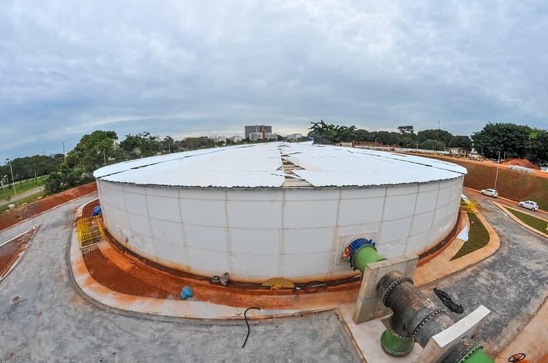 Novo reservatório de água potável vai atender 5 cidades