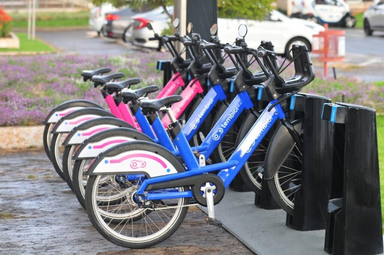 Sistema de bikes compartilhadas em fase de testes