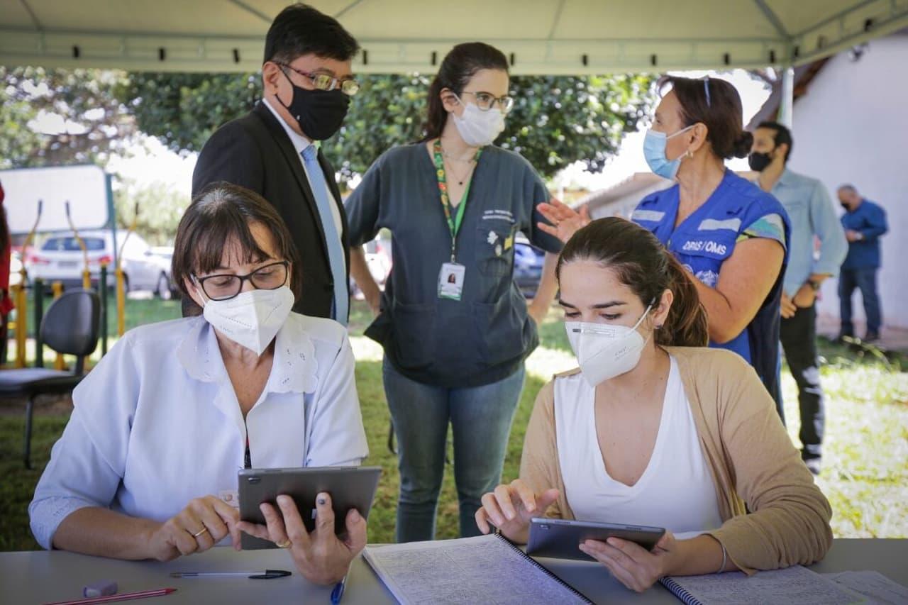Órgãos internacionais doam itens para apoiar campanha de vacinação