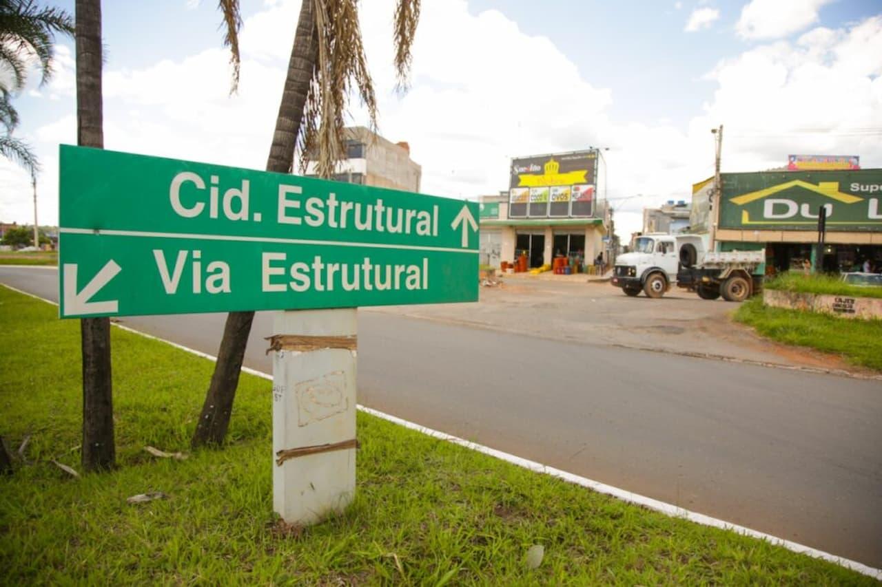 Estrutural recebe pacote de obras de R$ 49 milhões