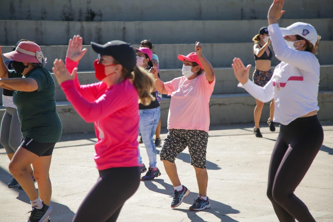 Dança, funcional e ginástica no Parque do Sudoeste