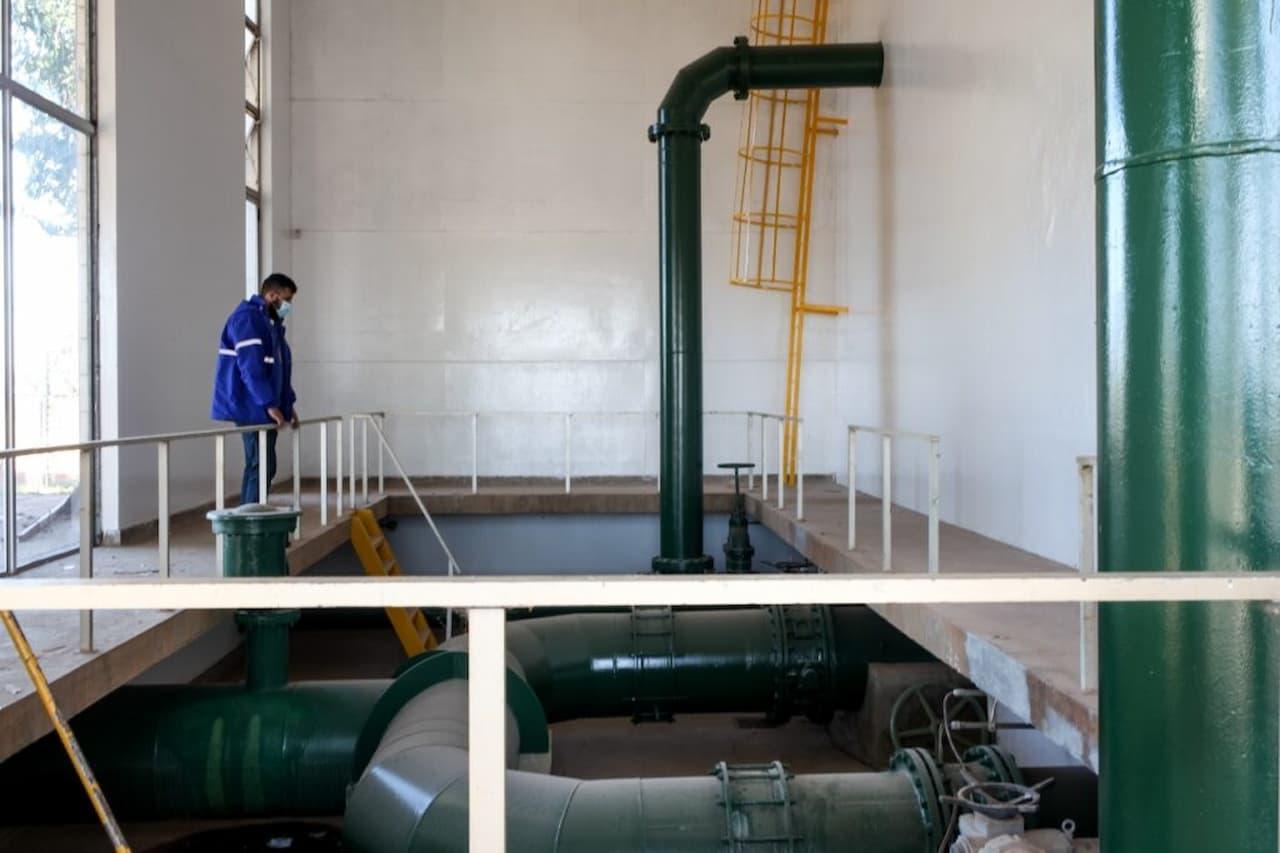 Caesb conclui reforma em quatro reservatórios de água