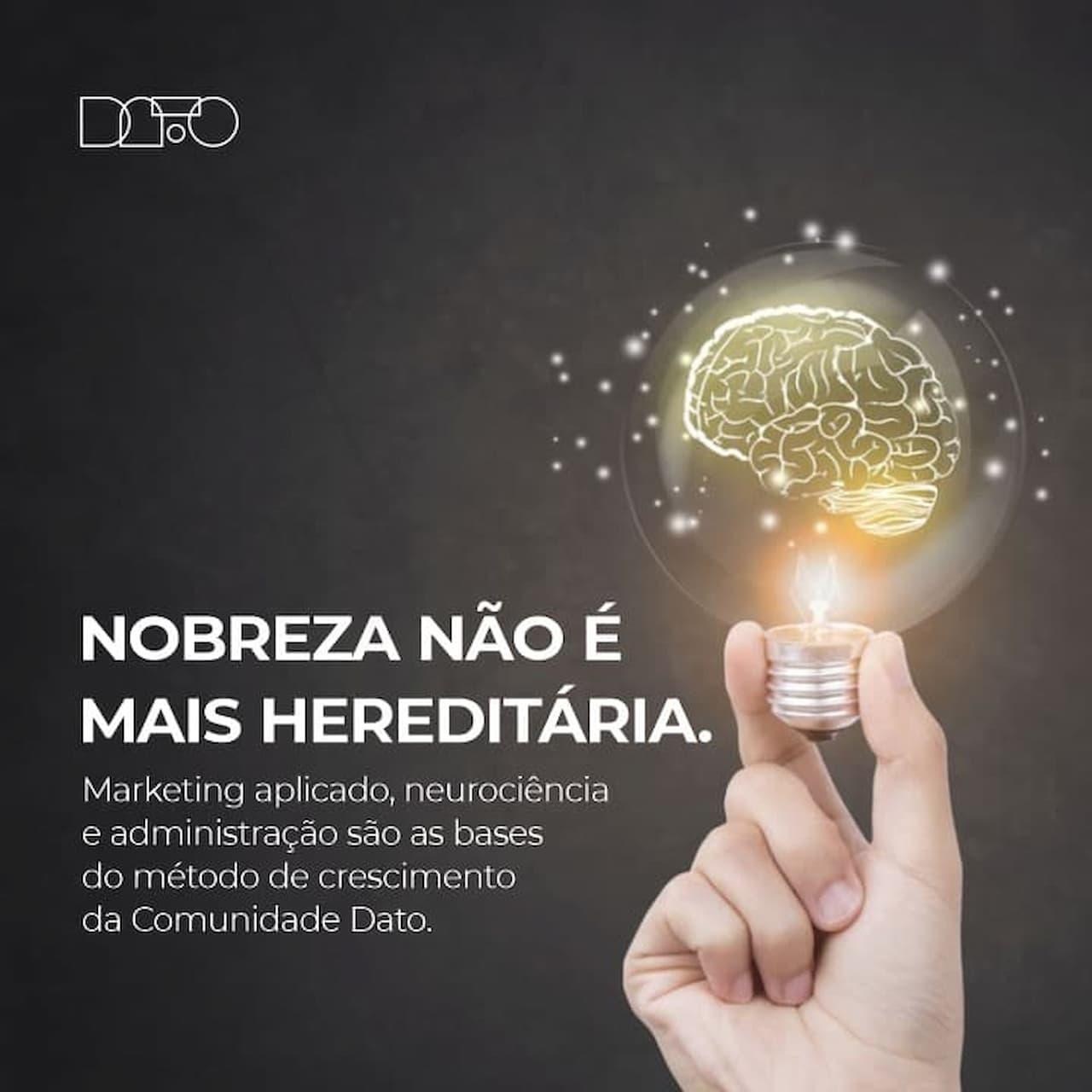 Nasce na Capital Federal a Comunidade Dato, método que vai revolucionar a forma de fazer marketing