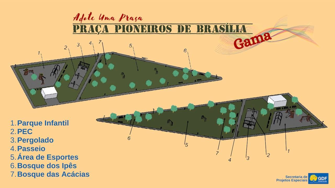 2.9-praça-pioneiros-de-Brasília-ADOTE-GAMA-CORONEL
